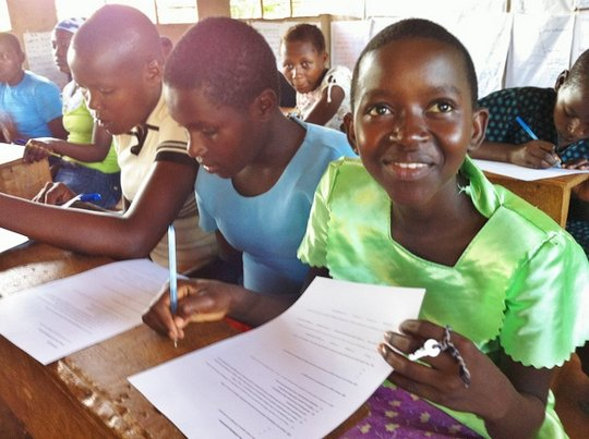 Kenyan Students in the Classroom