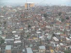 Complexo do Alemao Slum, by Jaddy Kathryn