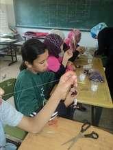 Crafts at the Anin society Summer Camp