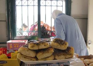 Women's canteen at Madraseh al-Quds School