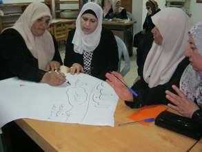 Women brainstorm business opportunities