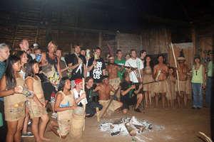 a traditional Maleku ceremony