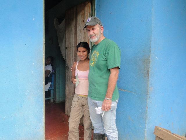Evelia Avarez and Daniel on pay day