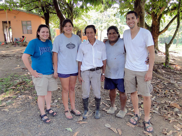 Jessica, Kelsey, Bienvenido, Luis and Joey