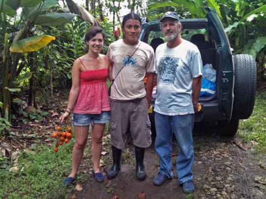 Rebecca Bell, Jimmy Acosta Elizondo and Daniel