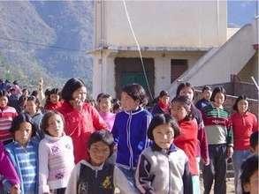 Tibetan Children in Dolanji