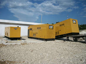 Generators to power the hospital if power is lost