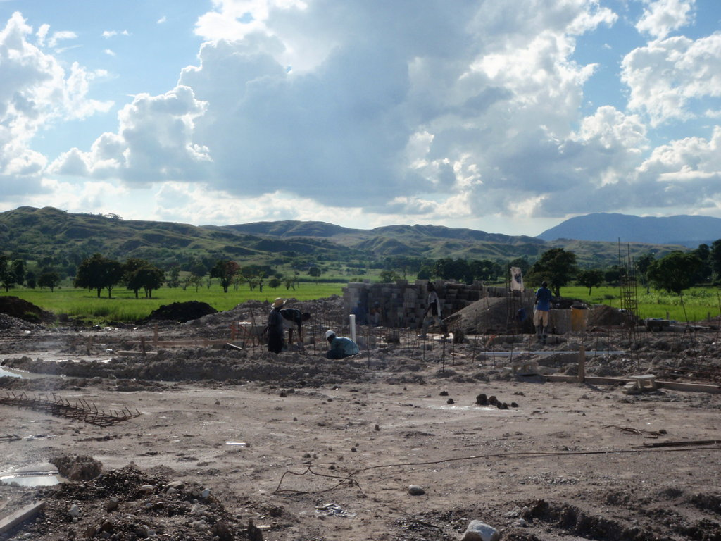 Construction begins-Waste Water Treatment Plant
