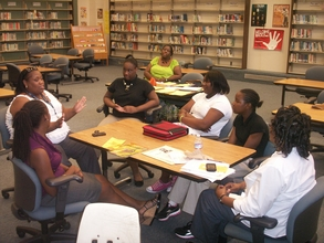 Goal Card Students preparing for a successful year