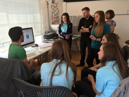 Students create digital tools to solve problems