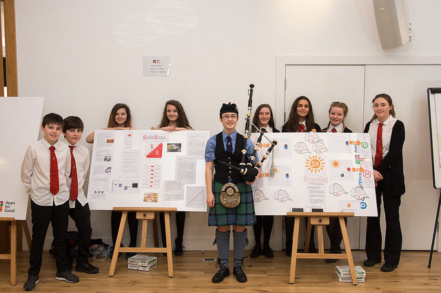 Students at AFG Scotland 2017