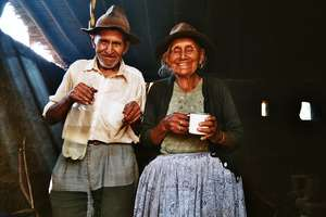 Couple in Totora