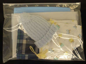 Up Close View of a Safe Motherhood Kit(TM)