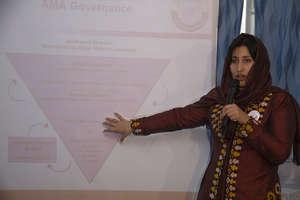 Mozghan Mohammadzai, AMA Vice President