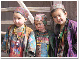Three Children in Afghanistan