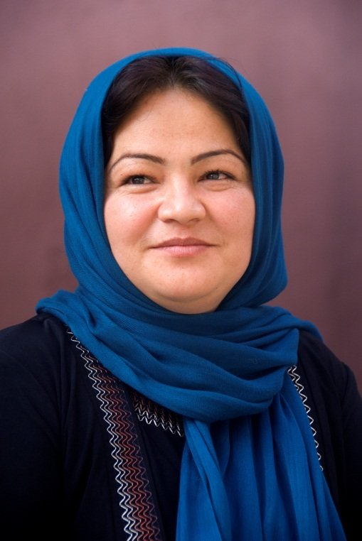 Sedeqa Khavari - photo by M. Hassan Zakizadeh