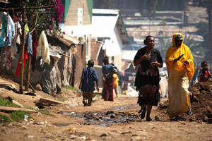Jhpiego works in the slums of Nairobi