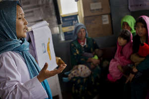 Afghan midwives share critical health information