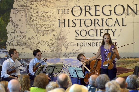 Free Protege concert at Oregon History Center