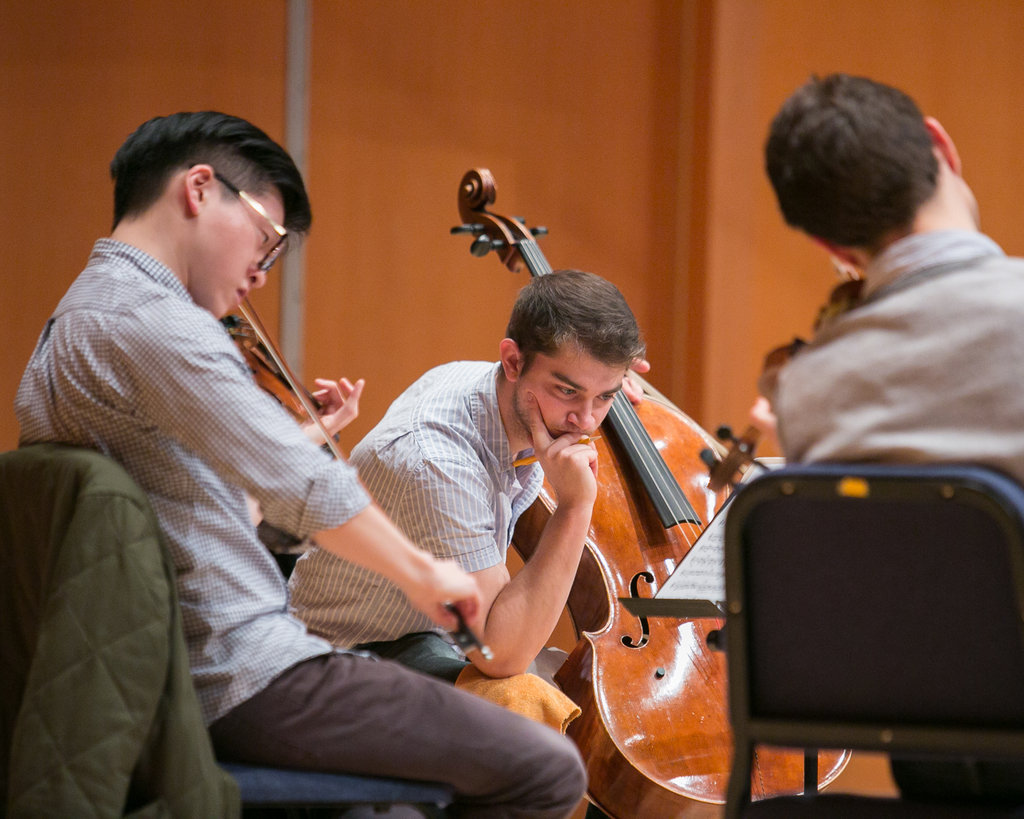 Open Rehearsal with the Dover Quartet