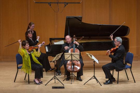 Opus One performs Schumann Piano Quartet, Op 47