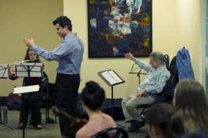 Conductor David Hattner at PYP Coaching.