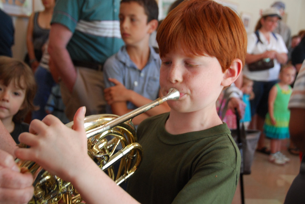 Instrument Petting Zoo, Family Open Rehearsal