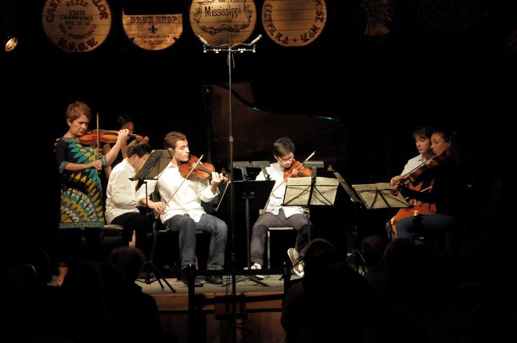 The Dover Quartet, returning Protege Artists.