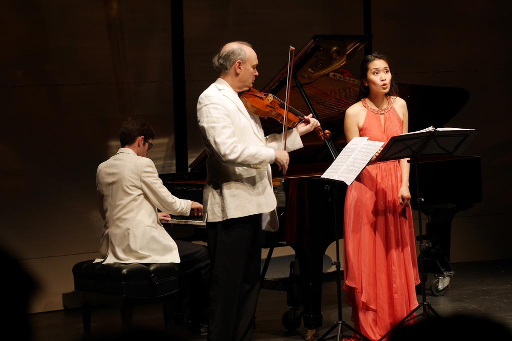 Yevgeny Yontov, Paul Neubauer, and Evanna Chiew