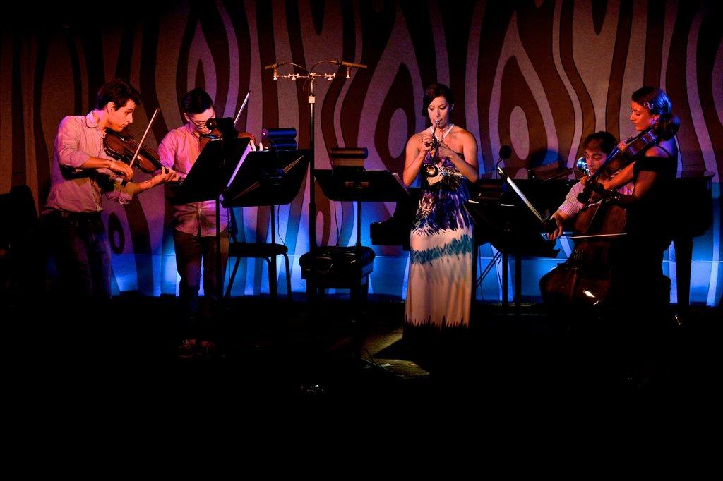 Dover Quartet and Jean Laurenz at the Doug Fir
