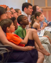 Audience at 2014 Family Open Rehearsal