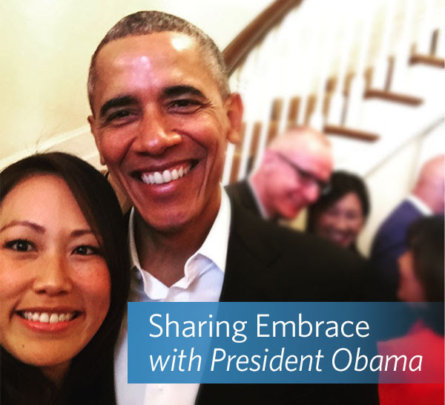 Jane Chen, Embrace Co-Founder, and President Obama