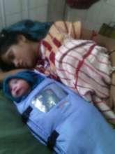 Uma and her son