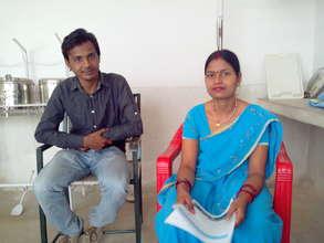 Yasin & Sundari at the Raebareli Project