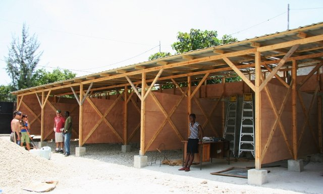 Transitional classrooms nearing completion