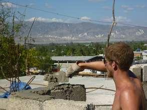 Repairing the damaged walls