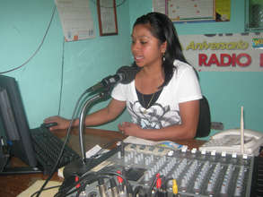 Rosy, a Volunteer at Radio Ixchel