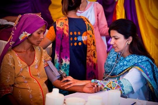 UNFPA helping pregnant women in Pakistan