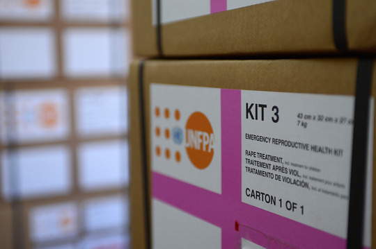 Reproductive health kit - South Sudan