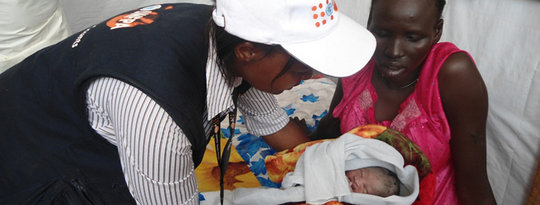 UNFPA: Clean Birthing Kits in Emergency Situations