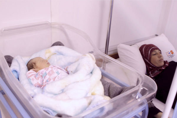 Samira and her baby find care in a time of crisis