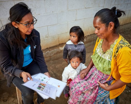 Working with mothers to help their children thrive