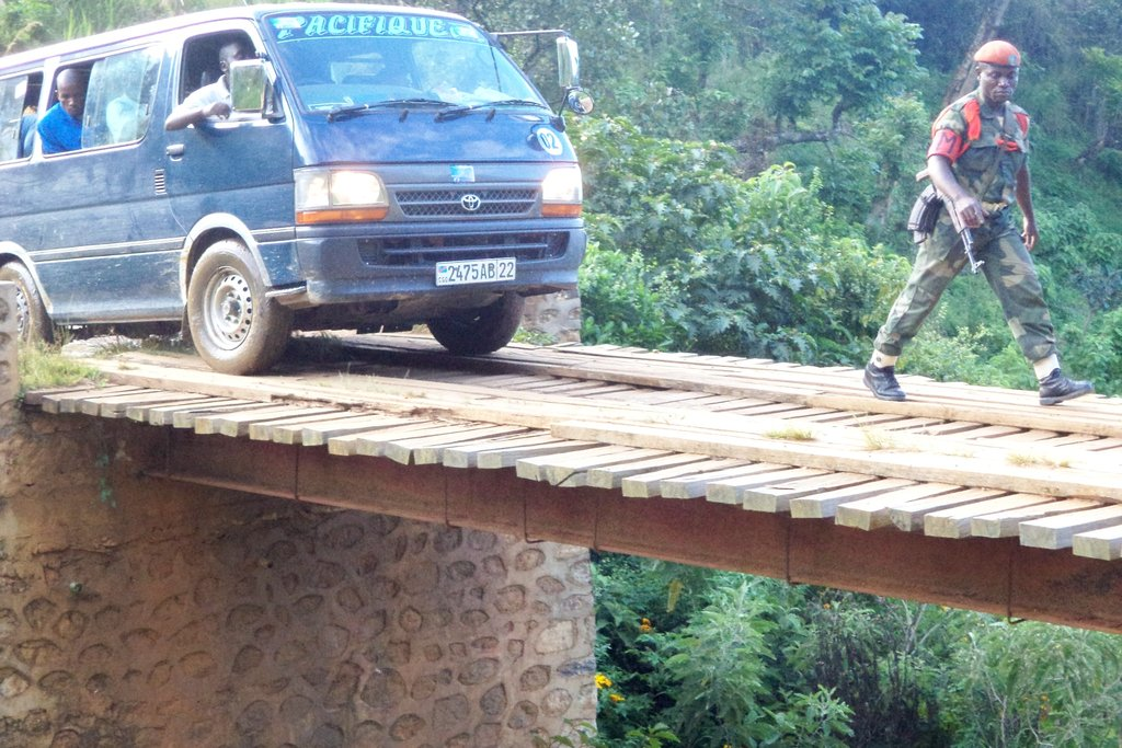 Difficult conditions to reach mountain communities
