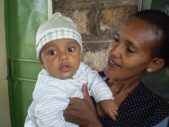 Tigray Mother and Child