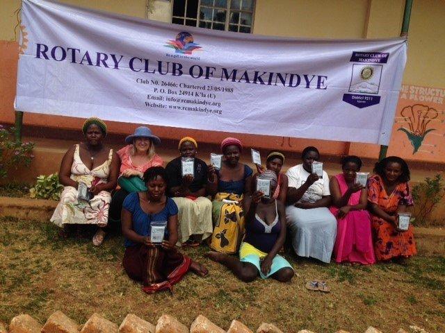 Women with Birthing Kits
