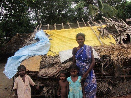 """Dalit"" family of Dingigul District, Tamilnadu"
