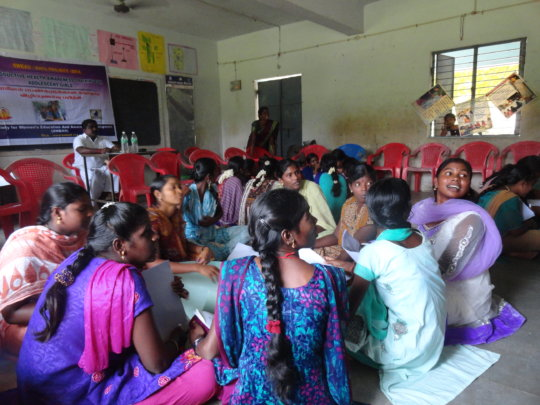 Traditional birth attendants receive training