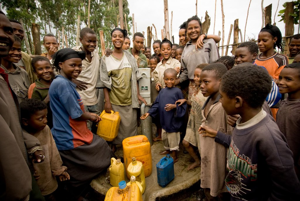 Ethiopia, community around the Well project