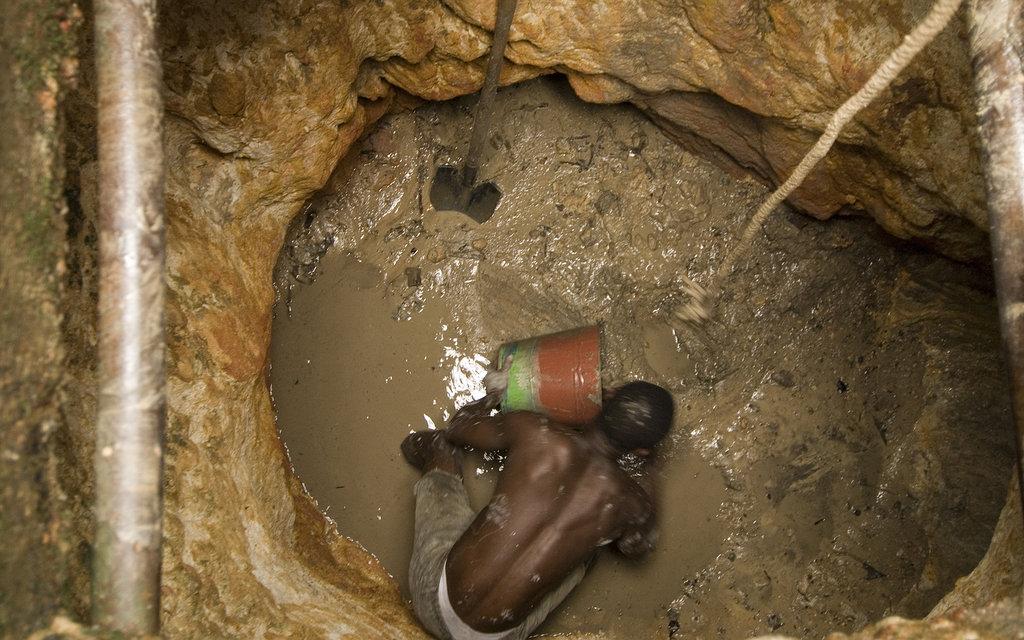 Hand-dug well, Ethiopia 1