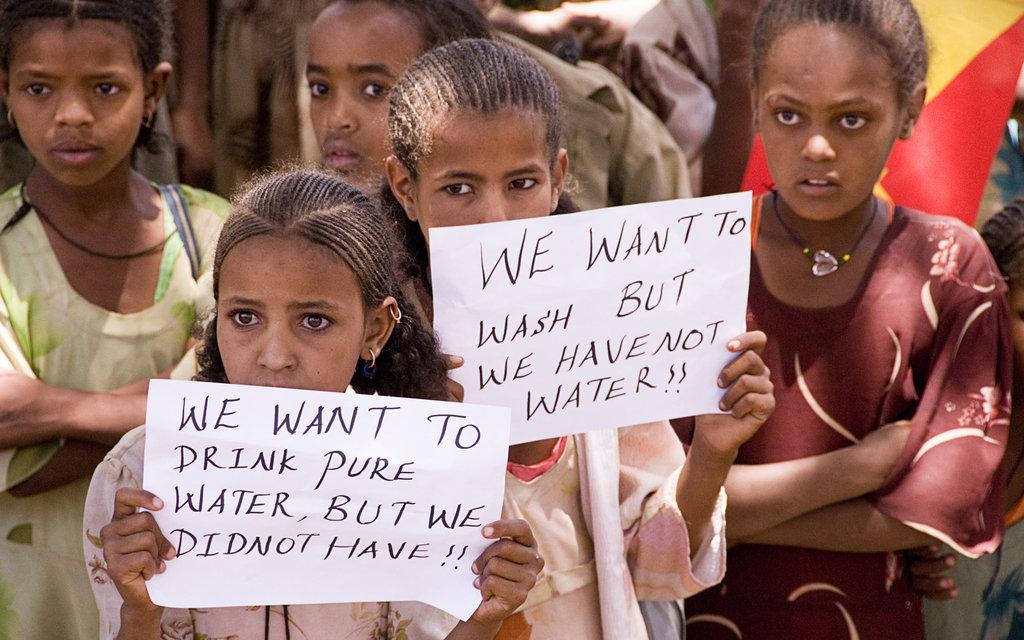 Girls at school, Ethiopia
